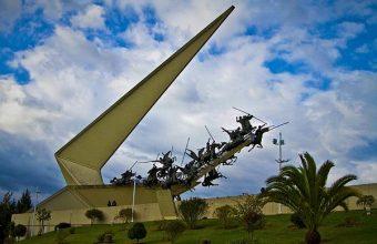 Monumento a Los Lanceros - Pantano de Vargas