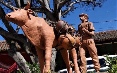 Monumento al labriego - Ráquira